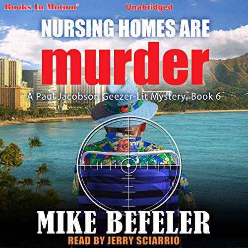 Nursing Homes Are Murder audiobook cover art