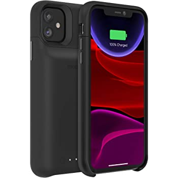 Amazon Com Mophie 401004407 Juice Pack Access Ultra Slim Wireless Charging Battery Case Made For Apple Iphone 11 Pro Max Black Slim, protective juice pack battery cases from mophie help you maintain a full charge so you always have power when and where you need it. apple iphone 11 pro max