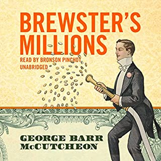 Brewster's Millions audiobook cover art