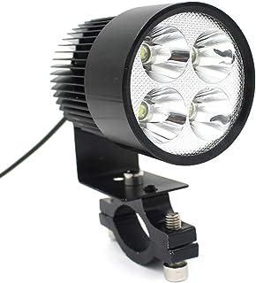 FAVOMOTO Motocicleta Farol LED Redondo Acessórios de Luz Do Carro Liga de Alumínio Ferramenta de Iluminação Noturna para M...