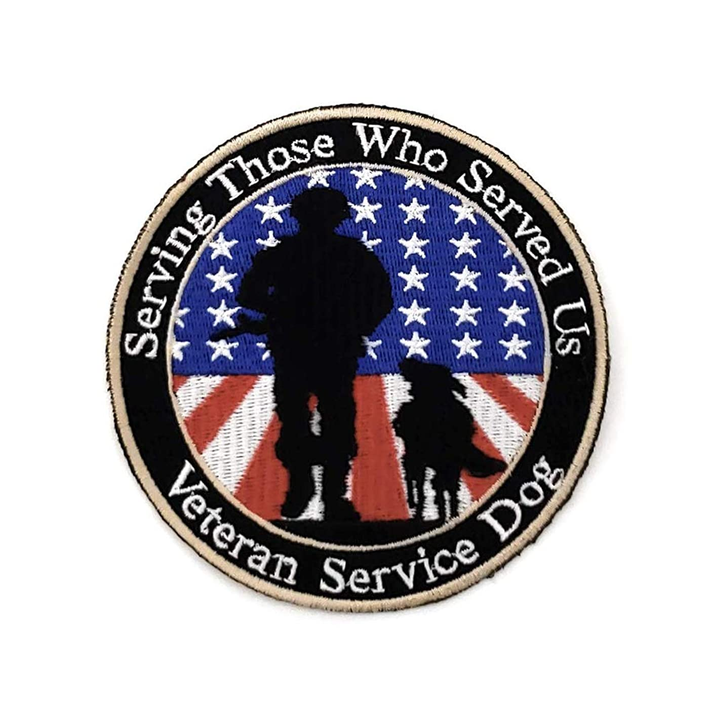 Service Dog Patch,K9 Service Dog Patch for Dogs Certified Service Dog DO NOT PET Removable Patch for Service Dog Harnesses Tactical Military Patches,Veteran Service Dog Embroidered Morale Patch.