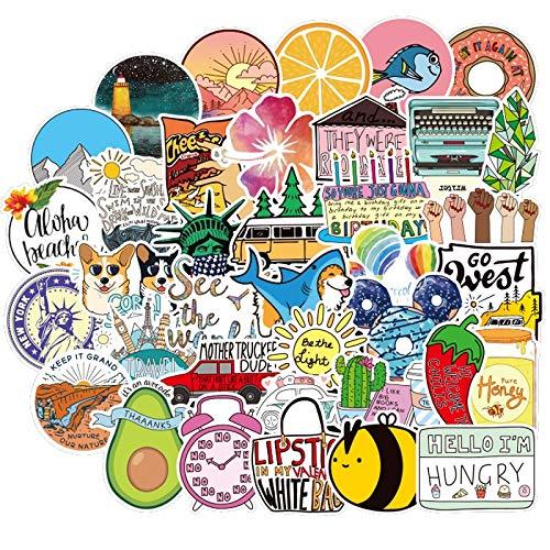 Kawaii Vine Vsco Meisjes Sticker Waterdicht Voor Diy Decal Laptop Koelkast Telefoon Bagage Fietshelm Auto Stickers 100 stks