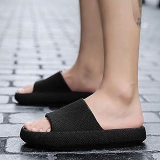 B/H Unisex Pantofole Doccia Antiscivolo,Sandali da Bagno di Grandi Dimensioni con Fondo Spesso, Pantofole da Massaggio Ant...