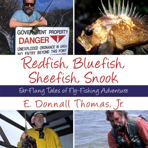 Redfish, Bluefish, Sheefish, Snook audiobook cover art