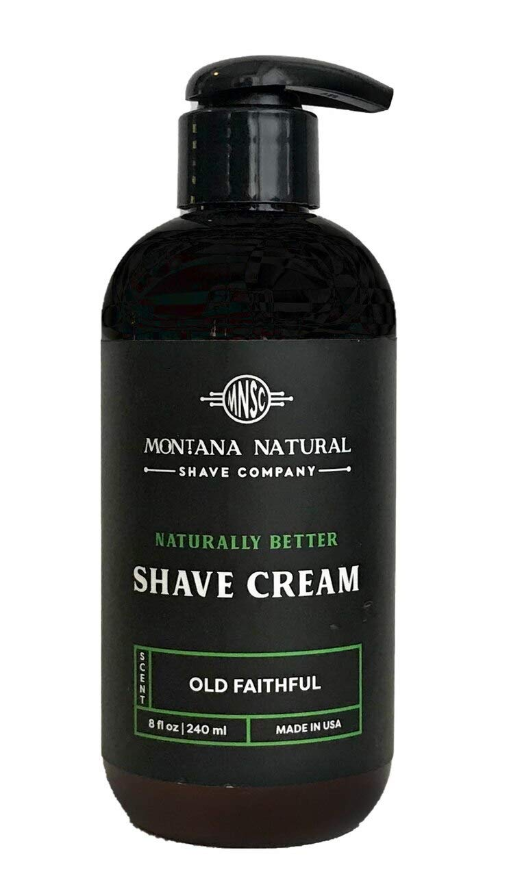 MNSC Old Quantity limited Faithful Naturally Better Pump Reservation Sha - Shave Smooth Cream