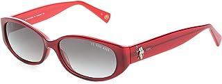 نظارات شمسية من يو اس بولو اسن للنساء رمادي - 772
