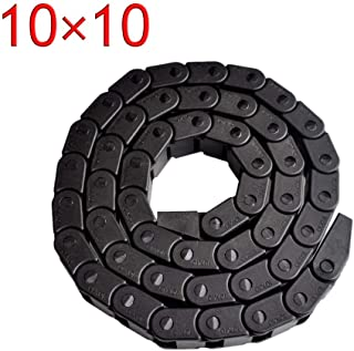 Xia Fly Best Price 10 x 10mm L1000mm Cable Drag Chain Wire Carrier with end connectors for CNC Router Machine Tools