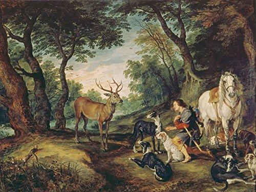 Artland Alte Meister Kunst Wandbild Jan Brueghel d.Ä. Leinwandbilder Renaissance 45 x 60 cm Der...