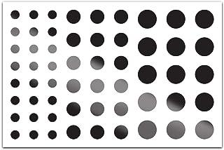 BLOCKED Webcam/Camera Vinyl Covers | 57 Low-Tack Reusable Webcam Sticker | 3-Sizes | Black