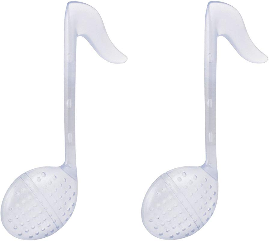 LSW Set Of 2 Music Notes Tea Strainers
