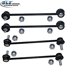 DLZ 4 Pcs Suspension Kit-2 Front 2 Rear Sway Bar Link Compatible with 2005-2012 Toyota Avalon 2004-2006 Toyota Camry 2001-2003 Toyota Highlander FWD 2004-2008 Toyota Solara 2004-2013 Toyota Highlander