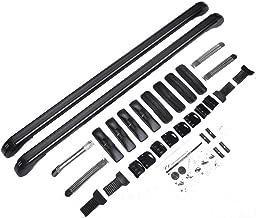 Facaimo Aluminum Car Top Luggage Roof Rack Cross Bar Carrier Adjustable Window Frame USA(11057CM)