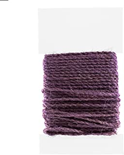 5 Pack - Lilac Jute Cord Colored Macrame Jewelry Spool Stringing Twine (2 MM x 50 M)