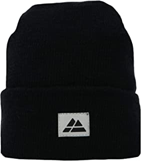 Classic Beanie for Men /& Women Soft /& Stretchable Unisex Cuffed Plain Knit Hat Made of Merino Wool and Recycled Materials Blend