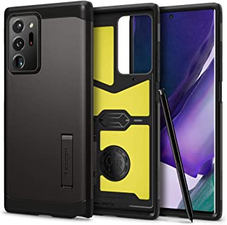 Spigen Tough Armor designed for Samsung Galaxy Note 20 Ultra 5G / Note 20 ULTRA case/cover with Extreme Impact Foam - Gunm...