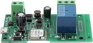 Asixx Vergrendelingsrelaismodule, 50 Hz Wireless WiFi Smart Switch Inching zelfblokkerende relaismodule geschikt voor toeg...