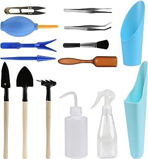 Cuteforyou 3 PCS Set Mini Gardening Plant Tools,Shovel,Rake,Spade
