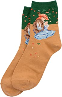 Calcetines Renoir Marie-thérèse Durand-ruel fabricados con algodón y 15% elastano por Joe Cool
