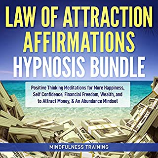 Law of Attraction Affirmations Hypnosis Bundle cover art