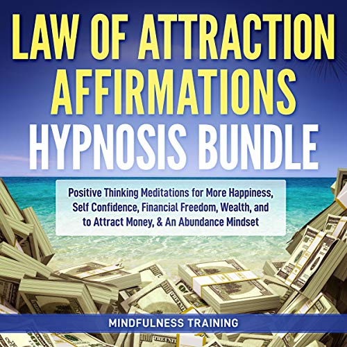 Law of Attraction Affirmations Hypnosis Bundle audiobook cover art