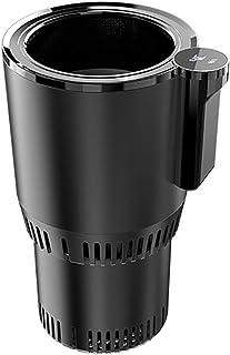 LKNWCFX Mini Refrigerator Portable Smart Car Heating Cooling Cup 12V LCD Screen Car Heating Cup Car Beverage Mini Refriger...