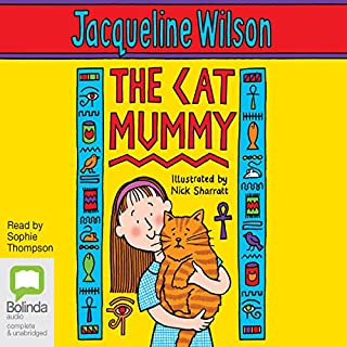 The Cat Mummy audiobook cover art