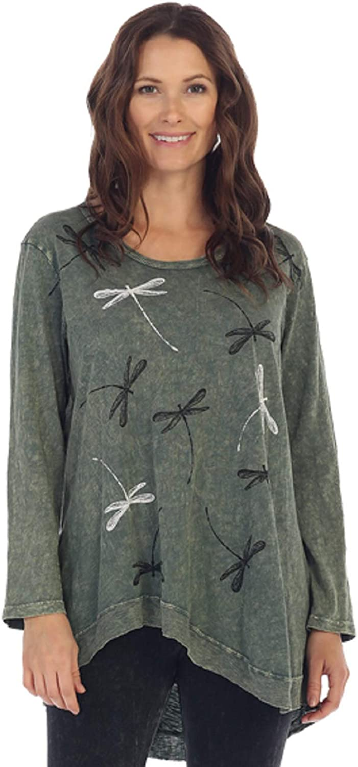 Jess Jane Memphis Mall Wind Song Mineral Surprise price Washed Cotton Side Patch Pocket Tu