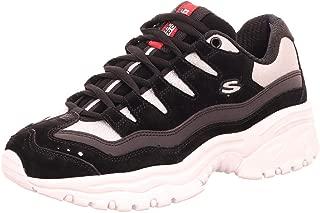 Skechers Energy - Dazzle Glitter Womens Sneaker Black/White 11