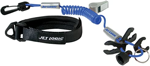 ULTIMATE LANYARD, Blue / Silver, for PWCs