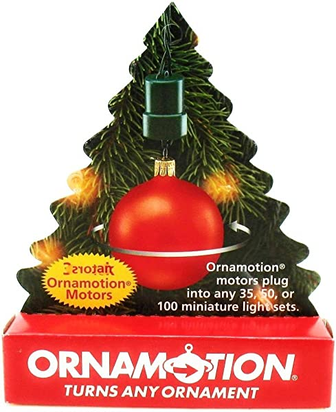 Ornamotion Turns Any Ornament 3 Pack Ornamotion Motors Cat No 82203