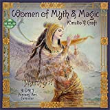 Women of Myth & Magic 2021 Fantasy Art Wall Calendar