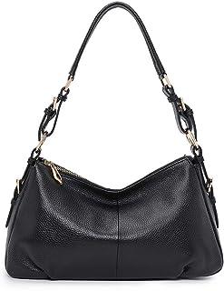 کیف های دستی زنانه Kattee Soft Leather Hobo ، کیف پول شانه Vintage دستگیره اصل