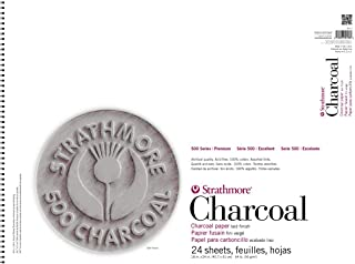 Strathmore ((561-3 500 Series Charcoal Pad, 18