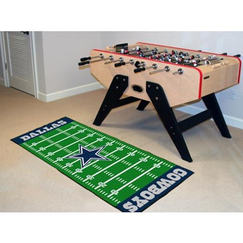 Dallas Cowboys Football Field Runner Mat