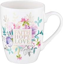 Taza de café de cerámica cristiana para mujeres y hombres – Taza de café inspiradora y regalos cristianos (taza de cerámic...