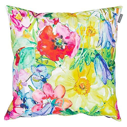 Pebble Coussins étanches Garnis de Fibres, pour chaises et bancs de Jardin, Motif Floral