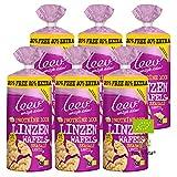 Bio Protein Waffeln Linsen, Organic Wafers, 25% Protein 6er Pack (Linsen)