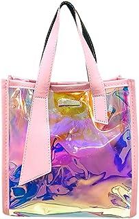 Wultia - Bags for Women Men Women's Fashion New Multi-Function Color Handbag Messenger Bag Shoulder Bag Bolsa Feminina Pink