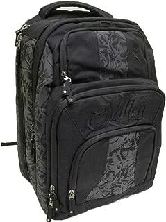 Sullen Unisex Blaq Paq Onyx Backpack Bag Kit Black
