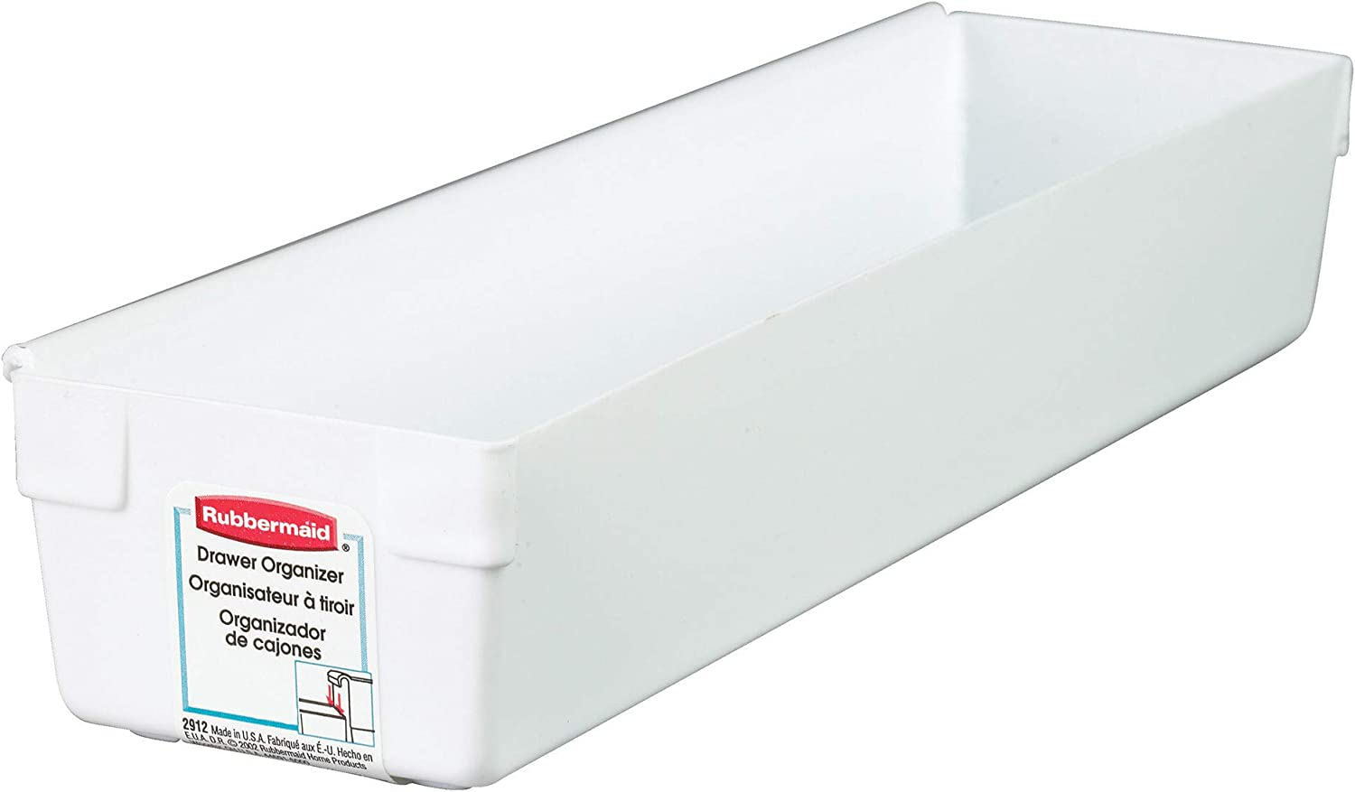 Superior Rubbermaid - 2918-RD-WHT Drawer 6 Organizer Ranking TOP1 pack