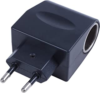 TOOGOO(R) Alimentatore di corrente alternata dell'adattatore 110V-220V dell'adattatore dell'accenditore della sigaretta de...