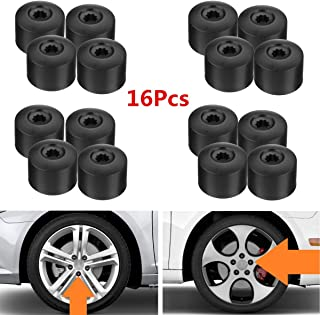 20PCs//Set 17MM ALLOY WHEEL LOOKING NUT LUG BOLTS COVERS CAPS FOR VW//GOLF//PASSAT//POLO LM-LUOMAO