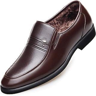 Chaussures homme Color : Marron, Taille : 38 EU Ofgcfbvxd Chaussures Formelles pour Hommes Chaussures à Semelle Croissante Fashion Oxford Classic Chaussures décontractées à Lacets Chaussures de ville à lacets