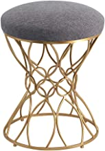 Concise Ottomans Footrest Stool Linen Round Stools Dressing Stool Bedroom & Living Room Furniture