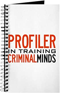CafePress Profiler in Training Criminal Minds Spiral Bound Journal Notebook, Personal Diary, Task Journal