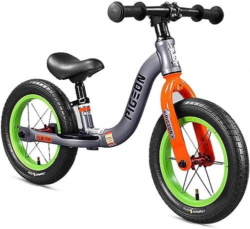 buena reputación PNYGJLPHC Equilibrar Bicicleta, Bicicleta, Bicicleta, 12 No pedalear Bicicleta con aleación de magnesio Baby Walker Push Car No Pedal Slide Car Neumática  El ultimo 2018