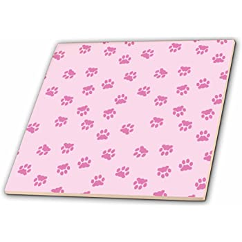12 3dRose ct/_30667/_4 Pale Pink-Ceramic Tile