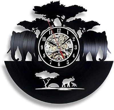 Gullei.com Lilo Stitch Unique Gift - Reloj de Vinilo para ...