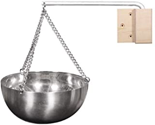 Matedepreso Sauna Aromatherapie Bowl, Hangende Aromatherapie Essentiële Olie Houder Bowl Roestvrij Staal Aromatherapie Cup...