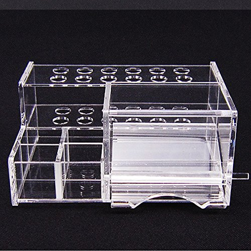 Dental Acrylic Organizer for Syringe Resin Adhesive Applicator Dispenser